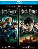harry potter blu ray box set - Harry Potter Double Feature: The Deathly Hallows Part 1 & 2 [Blu-ray]