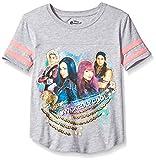Kyпить Disney Big Girls' Descendants T-Shirt, Heather Grey/Hot Pink, 7/8 на Amazon.com
