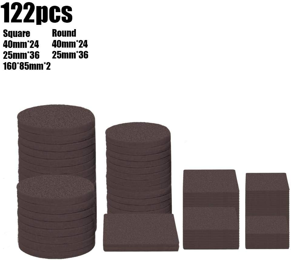 zenmifr Furniture Pads Chair Table Foot Pad Sofa Furniture Legs Mute Non-Slip Pads Wood Floor Protectors for Hardwood Flooring Protection