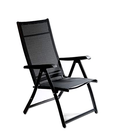 Marvelous Heavy Duty Adjustable For 7 Different Angles Folding Arm Chair Indoor Outdoor Garden Deck Pool Camping Beach 400 Lbs Capacity 1 Gmtry Best Dining Table And Chair Ideas Images Gmtryco