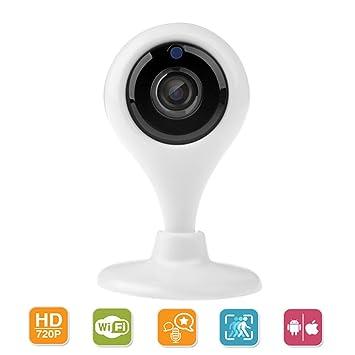 Cámara de Vigilancia IP WiFi desde Smartphone o Tableta Visión Nocturna, Detecta Movimiento, Notificaciones Push: Amazon.es: Electrónica
