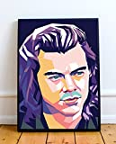 Harry Styles Limited Poster Artwork - Professional Wall Art Merchandise (More Sizes Available) (16x20)