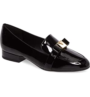 68c84953d7f Kors by Michael Kors Womens Caroline Loafer Leather Almond Toe Loafers