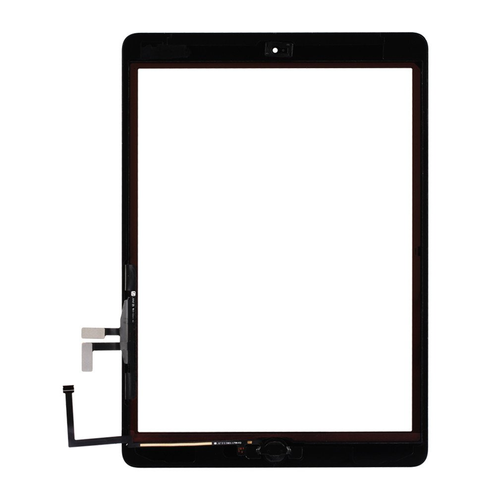 Front Panel Glass Screen with Home Button for iPad air,Digitizer Replacement Kits Include Pre-Install Adhesive and 7 pcs Tools by Tongyin by ? Tongyin (Image #3)