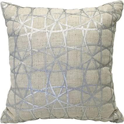 Amazon Better Homes And Gardens Sequin Decorative Pillow Awesome Silver Sequin Decorative Pillow