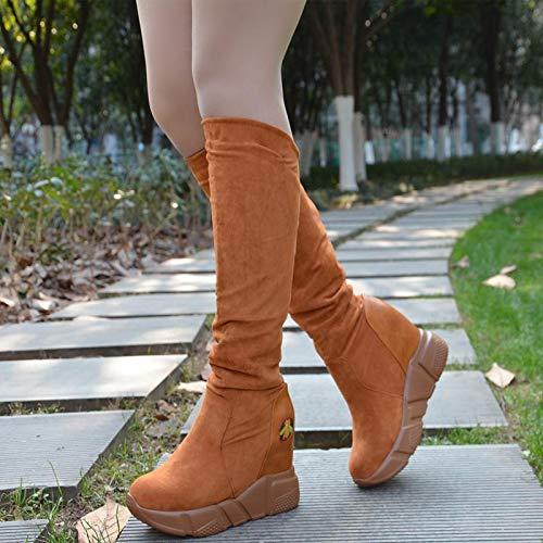 High Heels Stiefel Winterschuhe Hohe Stiefel Heels Schuhe da5c47