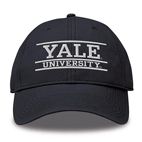 ec9cca48583 The Game NCAA Yale Bulldogs Bar Design Twill Hat