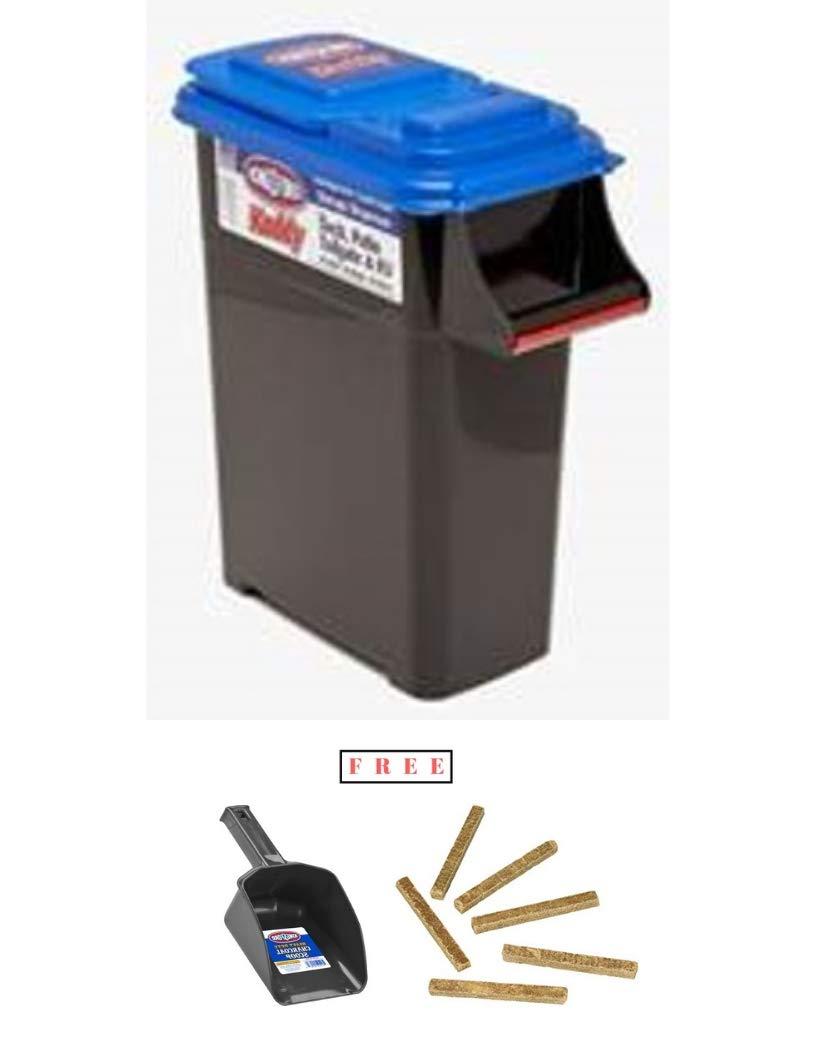 Buddeez Kingsford Kadddy Charcoal Dispenser 55 lb, with Free Black
