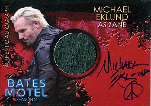 Costumes Zane (Bates Motel Season 2 Autograph Costume Card CAME Michael Eklund as Zane)