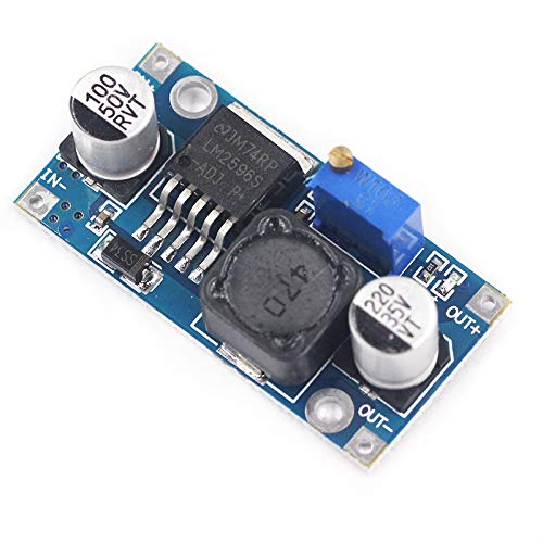 5pcs LM2596 3A Adjustable Step Down Module DC-DC Buck Converter Power Supply Module Output 1.23V-30V