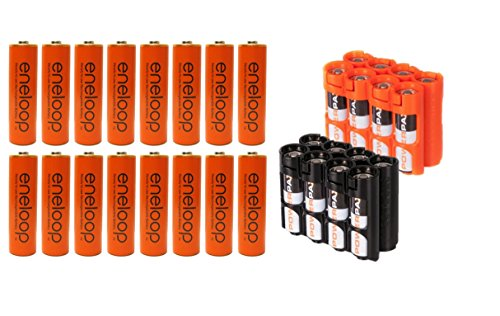 Panasonic Eneloop AA 2100 Cycle Ni-MH Pre-Charged Rechargeable Batteries (Pack of 16)