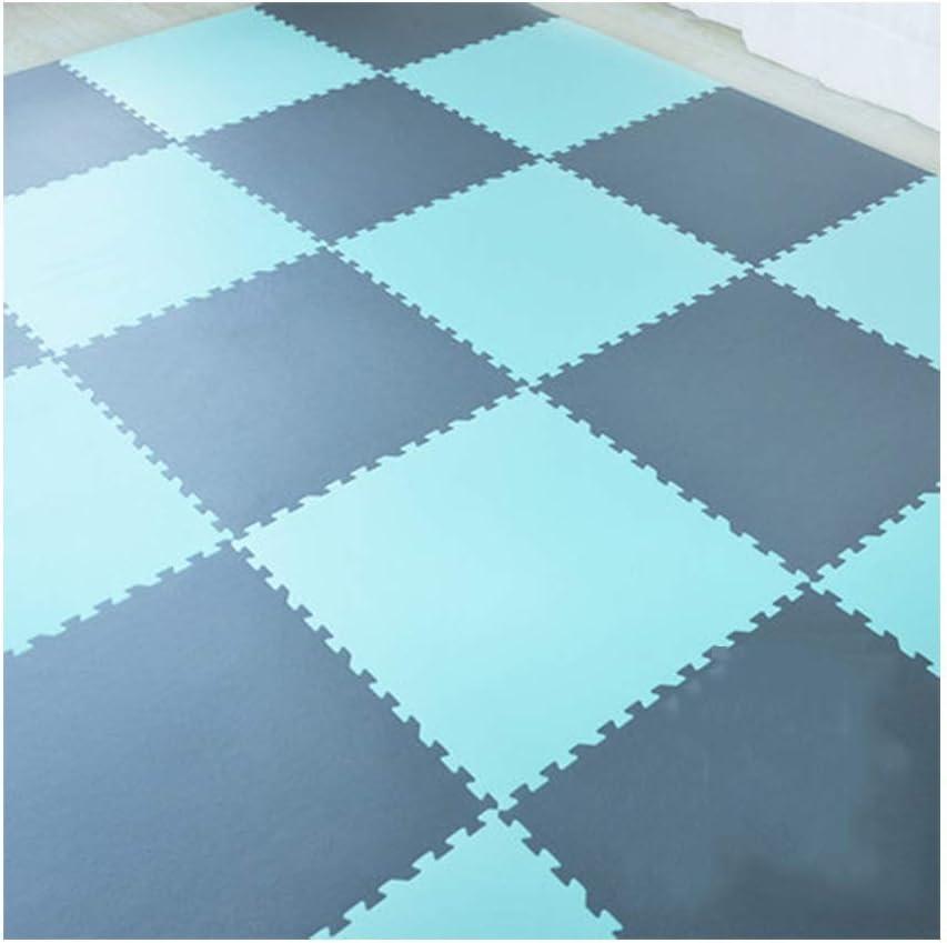 チェーンマット厚さ防湿子供の遊び場クロールマットホームベビークライミングマット(サイズ:60x60x1.4cm) (Color : V, Size : 8pcs)