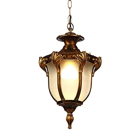Lámparas colgantes exteriores Lámpara impermeable Vintage ...