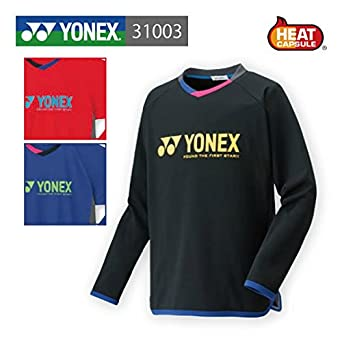 5fe0445a926f9b Amazon   ヨネックス バドミントンウェア 31003 ユニ ライトトレーナー ヨネックス / YONEX O ダークブルー(112)    シャツ 通販