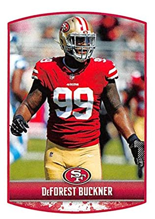 cc12196e980 2018 Panini NFL Stickers Collection  419 DeForest Buckner San Francisco  49ers Official Football Sticker