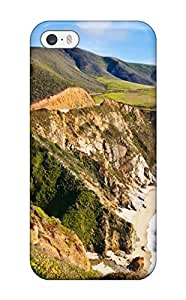 Protection Case For Iphone 5/5s / Case Cover For Iphone(bixby Bridge In Big Sur California)