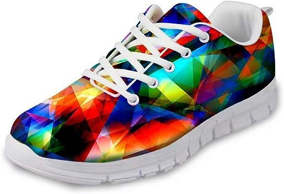 MODEGA Zapatos de Colores para los Hombres Deslumbrante Zapatillas ...
