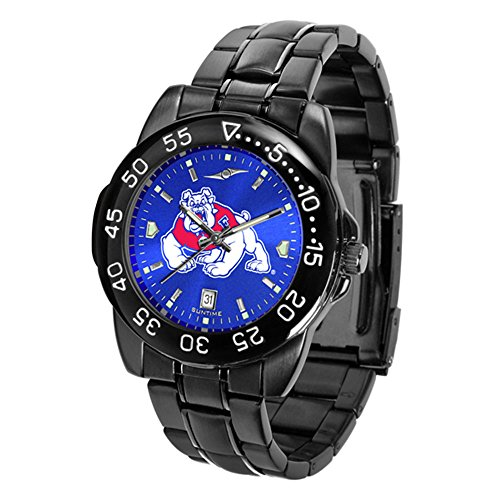State Fresno Wrist Watch - Fresno State Bulldogs Fantom Sport AnoChrome Men's Watch