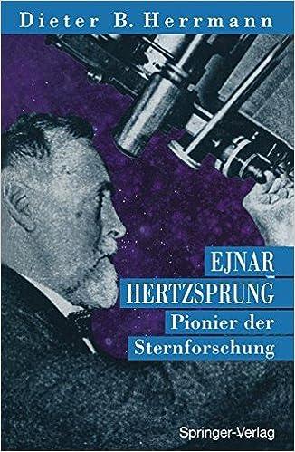 Book Ejnar Hertzsprung: Pionier der Sternforschung (German Edition)