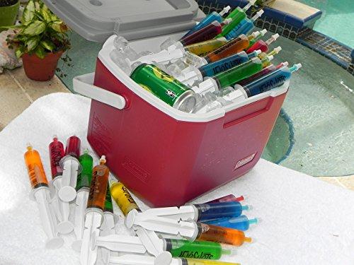 Jello Shot Syringes 32-Pack, Medium (up to 2oz), The Original JeloShots Gelatin Jello Shot Syringes with Easy-Grip Caps, Reusable by The Original JeloShots (Image #5)