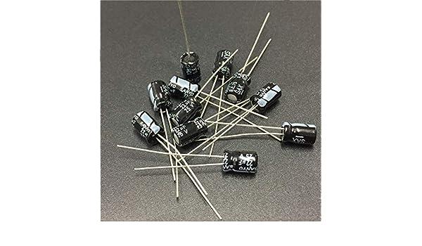20pcs 22uF 25V SANYO SAX 25V22uf 5X7mm Low Impedance Electrolytic Capacitor