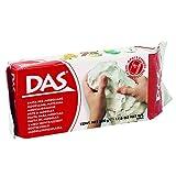 DAS Air Hardening Modeling Clay, 1.1 Pound Block, White (387000)