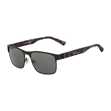 5515940fa1 Image Unavailable. Image not available for. Color  Calvin Klein Collection  CK7378S-001 Black CK7378S Sunglasses