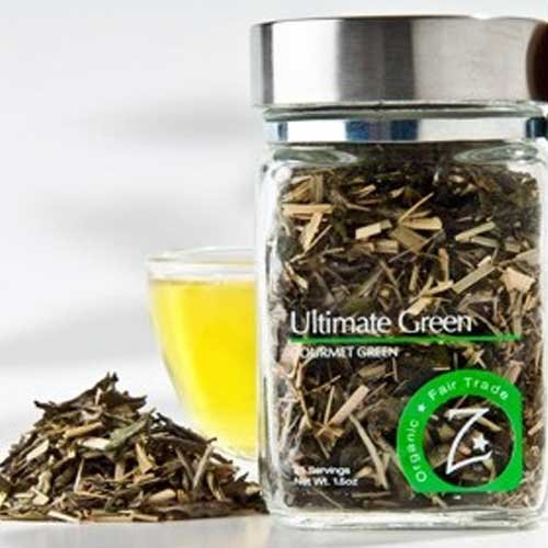 Zhenas Gypsy Organic Ultimate Green Tea, 1.5 Ounce - 4 per case.