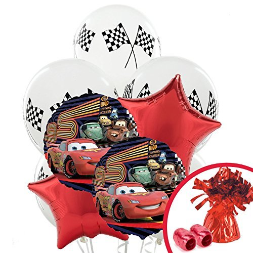 Disney Cars Balloon Bouquet by BirthdayExpress