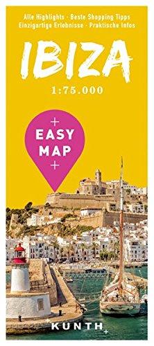 EASY MAP Ibiza: 1:75.000 (KUNTH EASY MAP)