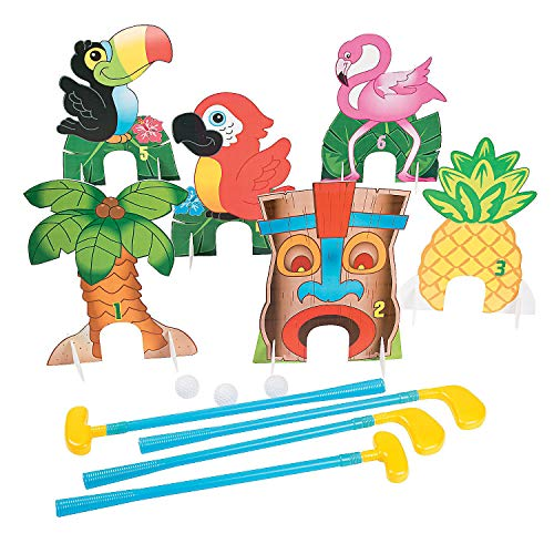 Fun Express Luau Golf Game for Party - 38 Pieces]()