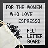 ONE DAY SALE!! White Felt Letter Board 10x10