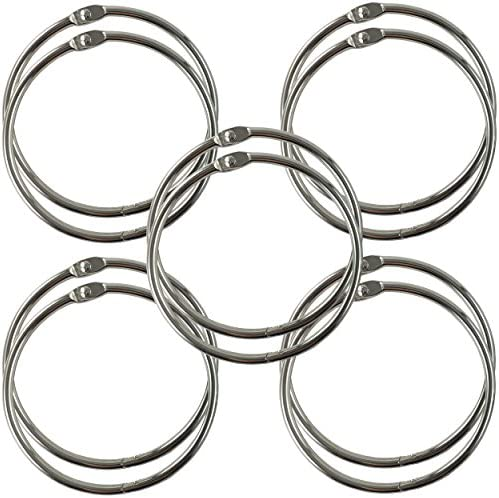 Clipco 3 Inch Nickel Plated 10 Pack product image