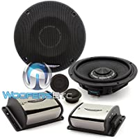 Image Dynamics IDQ65CS 125W RMS 6.5 2-Way iDQ Series Component Car Speaker System