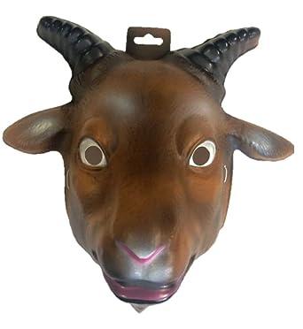 Amazon.com: Cabra Niño Animal Mask by Foro Novelties – 61369 ...
