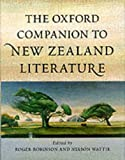 img - for The Oxford Companion to New Zealand Literature book / textbook / text book