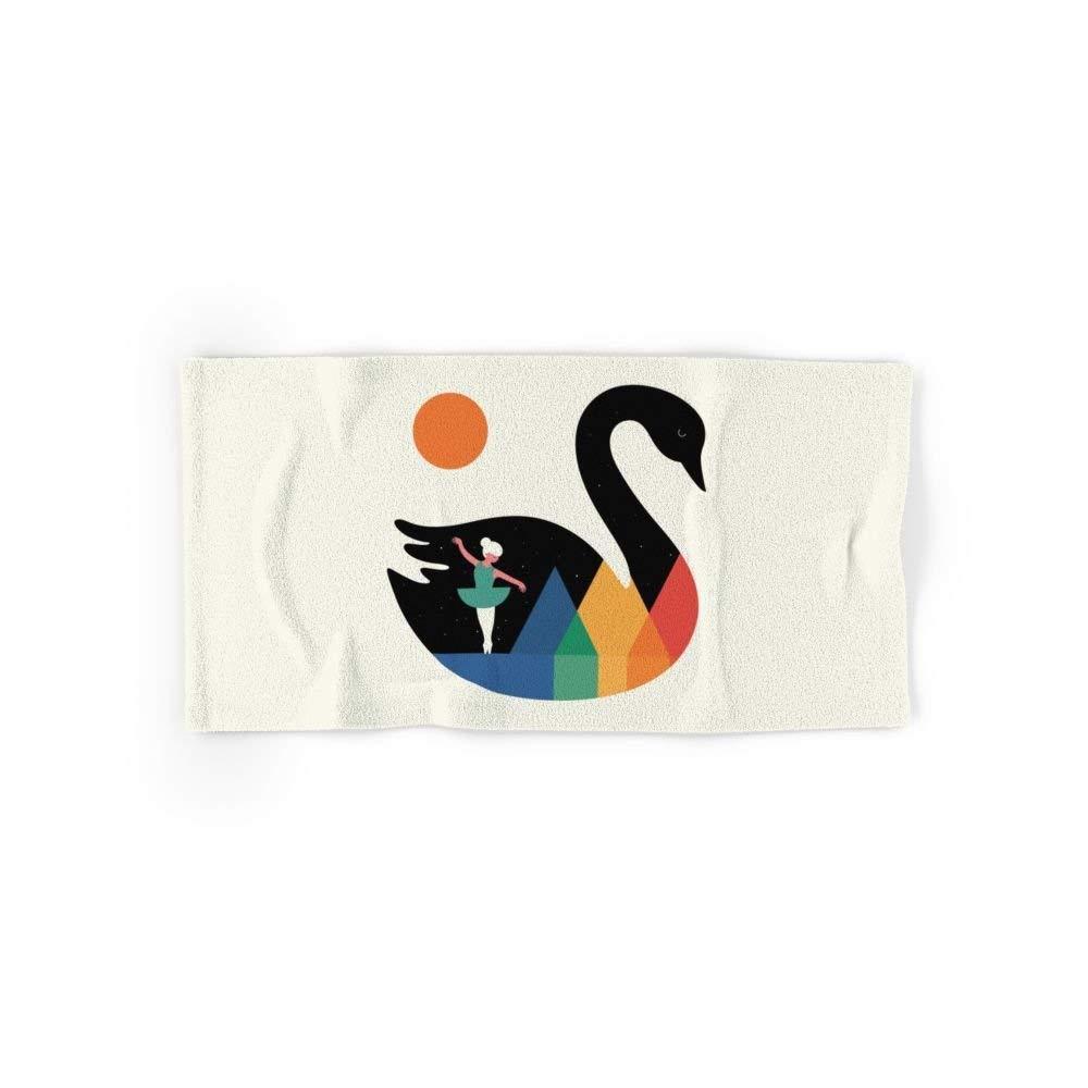 Mallory Swan Dance Bath Towel 31''x51''