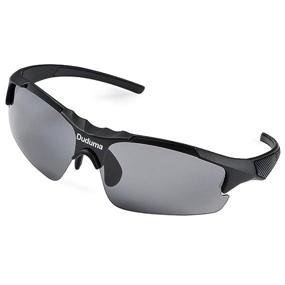 Duduma Gafas de Sol Deportivas Polarizadas para hombre Perfectas para Esquiar Golf Correr Ciclismo TR46 para hombre y para mujer.