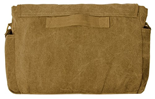 Sweetbriar Classic Messenger Bag - Vintage Canvas Shoulder Bag for All-Purpose Use by Sweetbriar (Image #2)