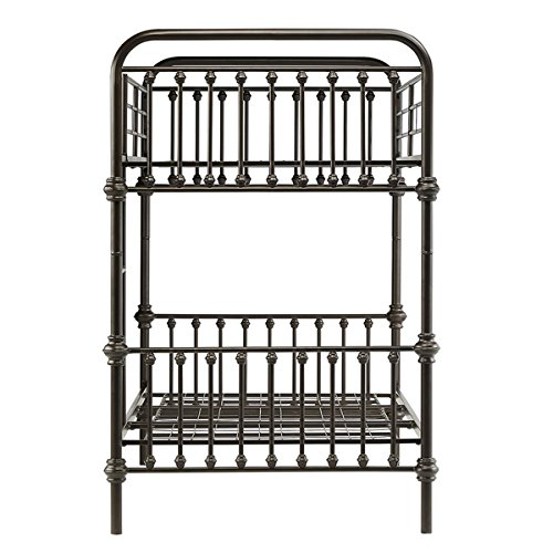 Amazon Com Kid S Bunk Bed Frame Wrought Iron Cast Metal Vintage