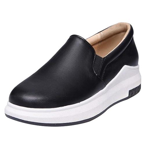 RAZAMAZA Zapatos Comodos para Mujer DjEXeiAu15 - anywhere ... 6a20c0dbc2f7