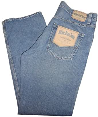Men's Tommy Hilfiger Relaxed Freedom Fit Denim Blue Jeans (40 x 32)