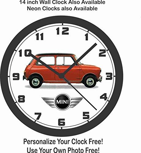 Cooper Clock Mini - CLASSIC MINI-COOPER WALL CLOCK-TRIUMPH, VW, PORSCHE