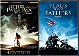WW2 War Clint Eastwood Epic Films Flags of Our Fathers + Letters From Iwo Jima DVD Movie Collection Double Feature Film Pack