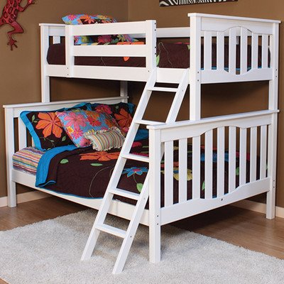 Amazon Com Epoch Design Seneca Twin Over Full Bunk Bed With Ladder