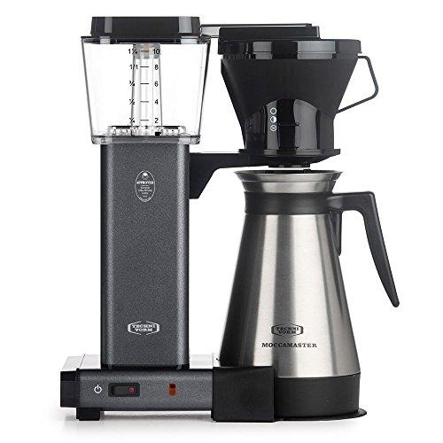 Technivorm Moccamaster 79115 KBT Coffee Brewer, 40 oz, Stone Grey - Grey Coffee Machine