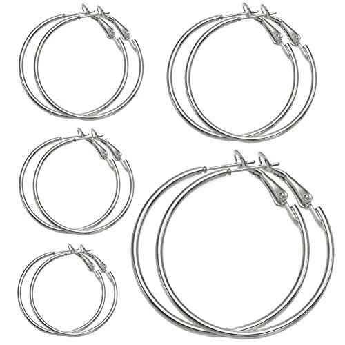 Pairs Hoops Womens Huggie Earrings