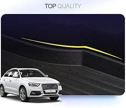 Tutu-C Car Boot Pad Carpet Cargo Mat Trunk Liner Tray Floor Mat Tray Floor Carpet for Audi A1 A3 A4 A5 A6 A7 A8 Q3 Q5 Q7 2015 2016 2017 2018 TPO Material Old Q7 06-15