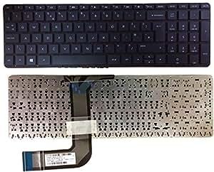 NUEVO HP Pavilion 17-f022nr 17-F023CL Laptop Keyboard UK Layout Marco de no Negro