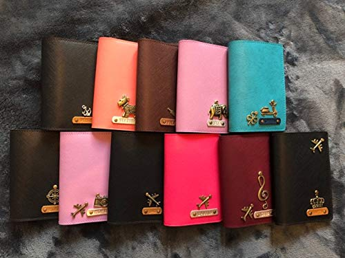 Custom Made Wedding Gifts Free Name /& Charm Personalized Passport Cover Passport Holder Travel Gifts MR /& MRS